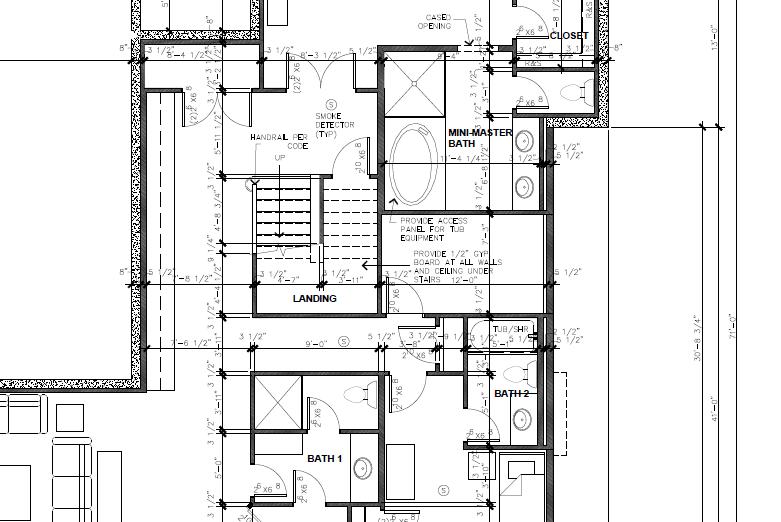 residential floor plan 2